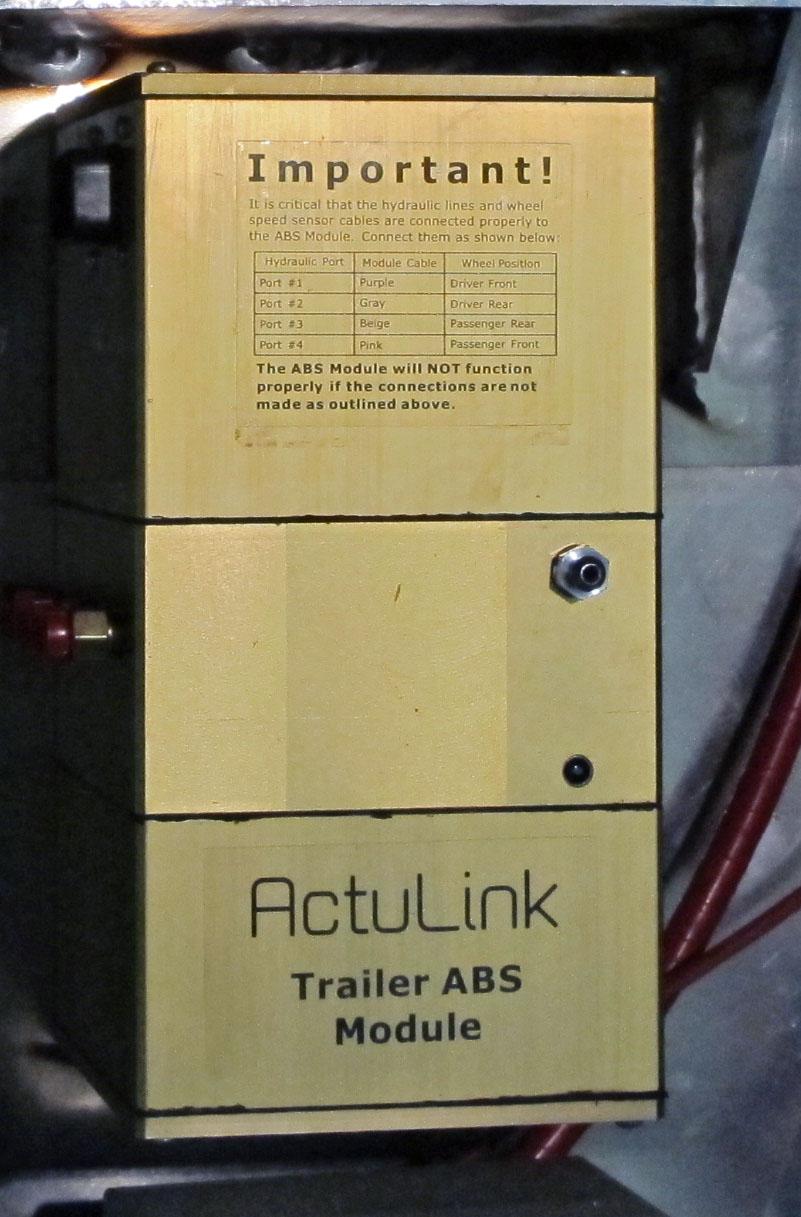 DirecLink from Tuson RV Brakes has Finally ABS Trailer