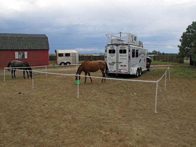 Portable Corral Systems For Horses : Express corral portable horse corrals welcome to
