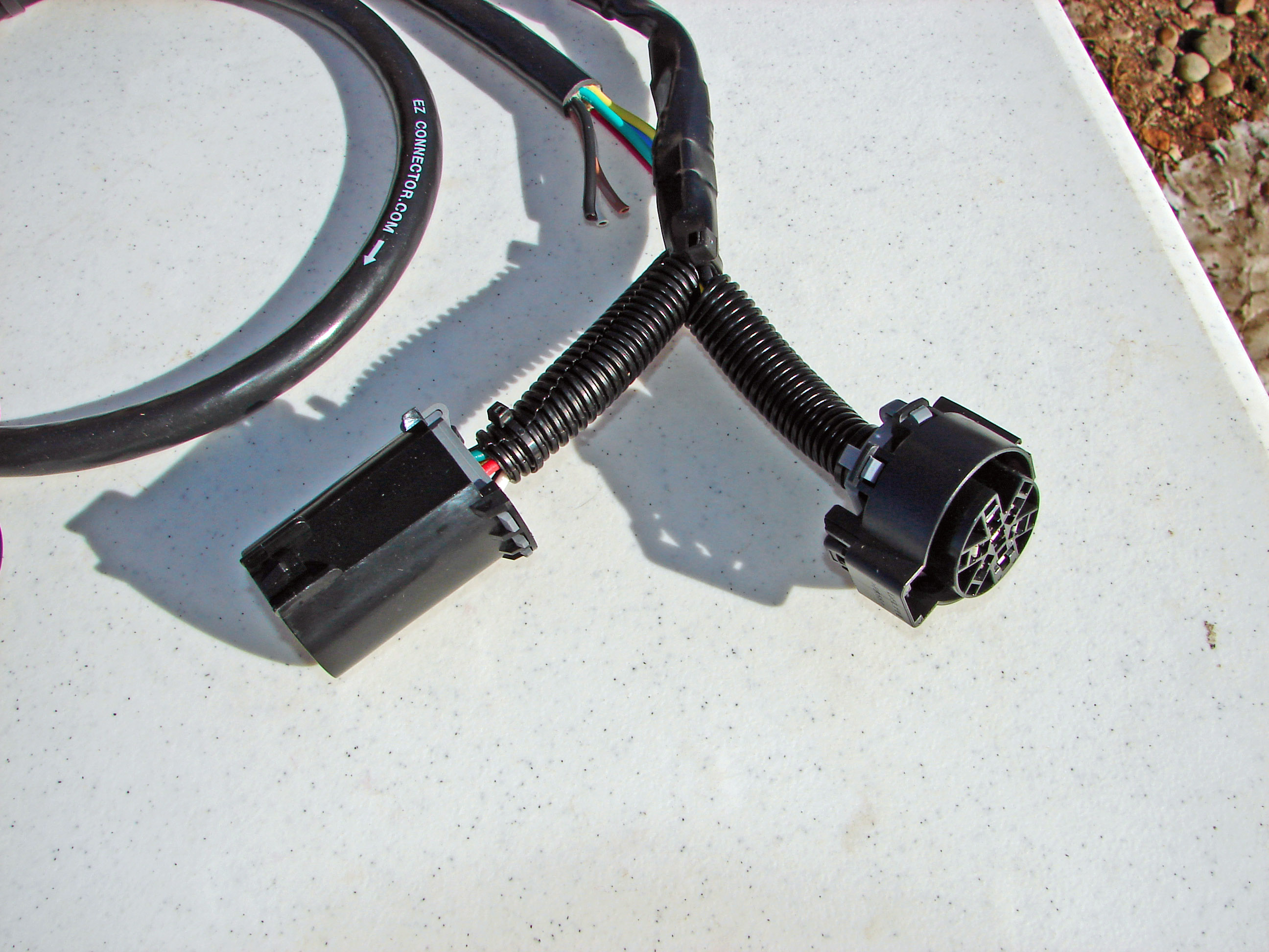 do your trailer lights work ez connector trailer plug a sealant is injected into the wire harness