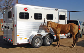 hart trailers aluminum horse trailers review of the factory here s a celebrity horse model dozer from the movie ldquodumb and dumberrdquo the clydesdale on the right was 1 2 of the team that pulled the sled up to the aspen