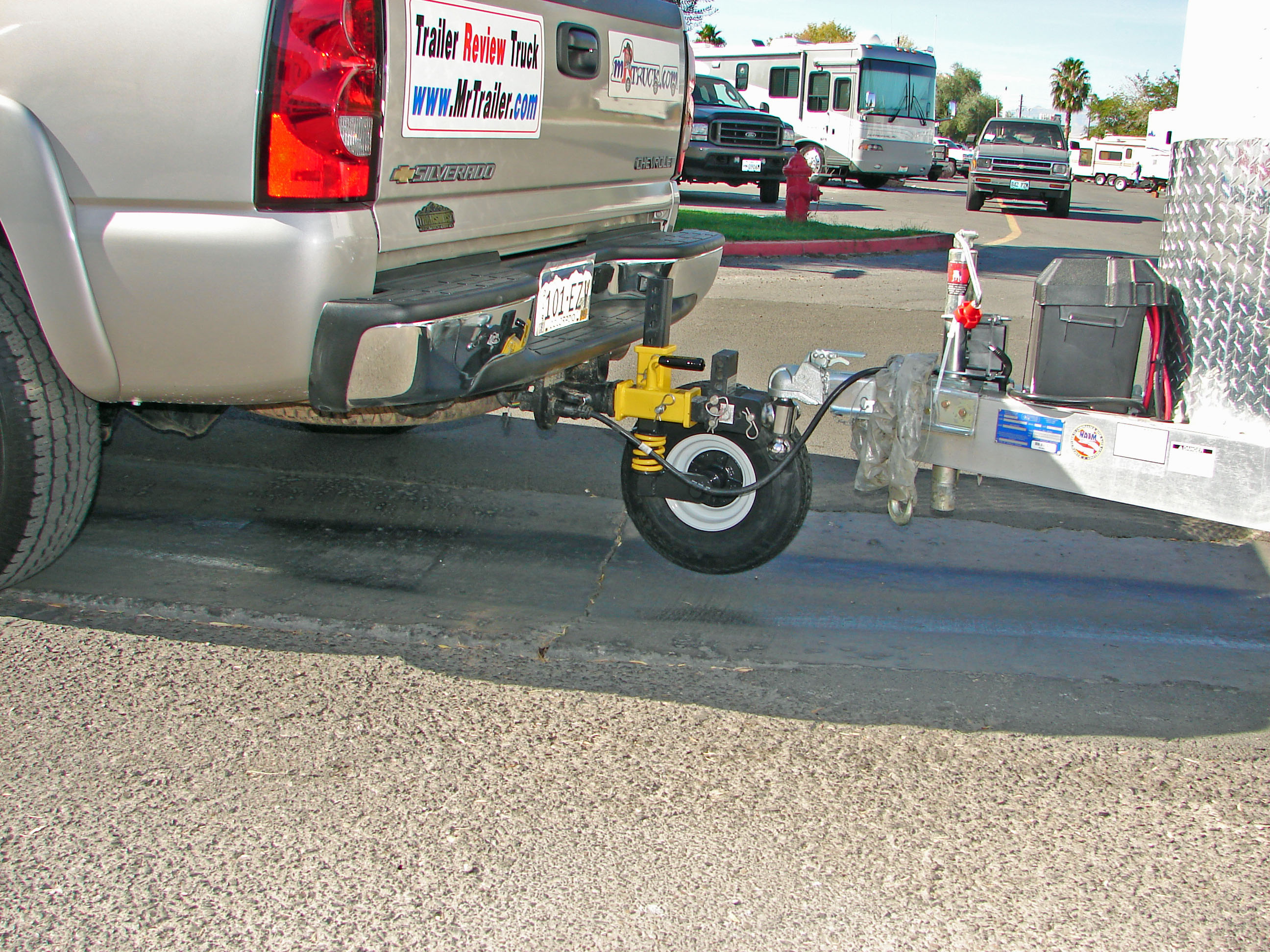 While At The Sema Convention Welcome To Mrtrailer Com