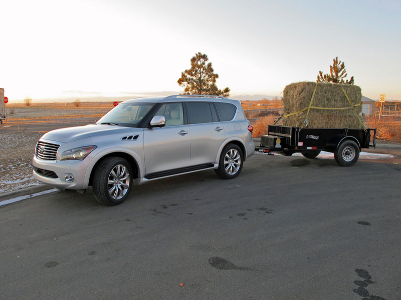 Infinity Qx Suv For Towing Trailers Welcome To Mrtrailer Com