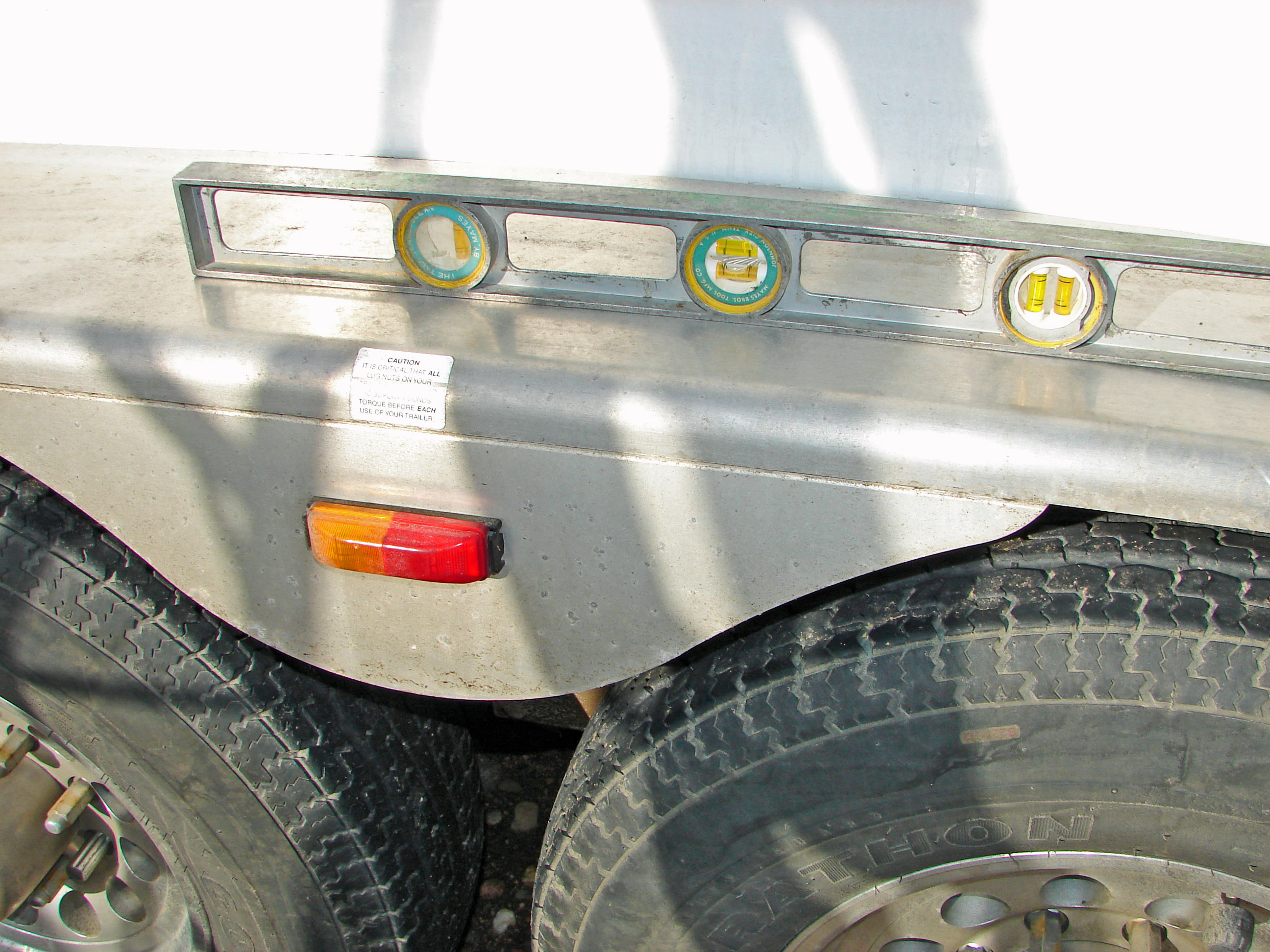 Step Above Trailer Aluminum Ladder For Horse Trailers