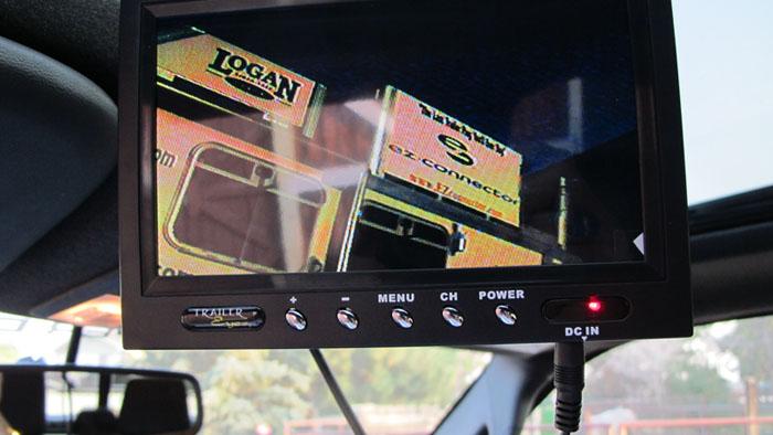 Trailer Eyes 7 inch monitor