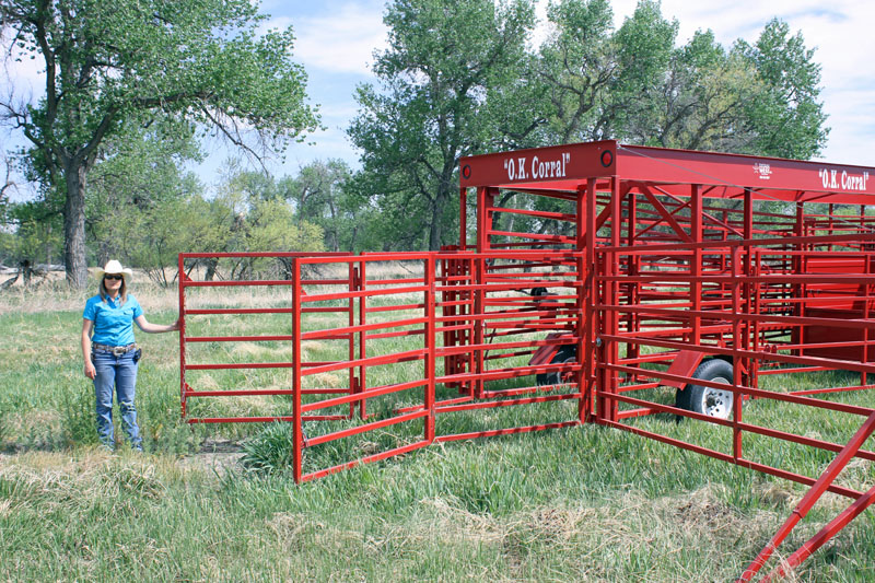 Portable Corral Systems For Horses : Titan west heavy duty cattle handling equipment