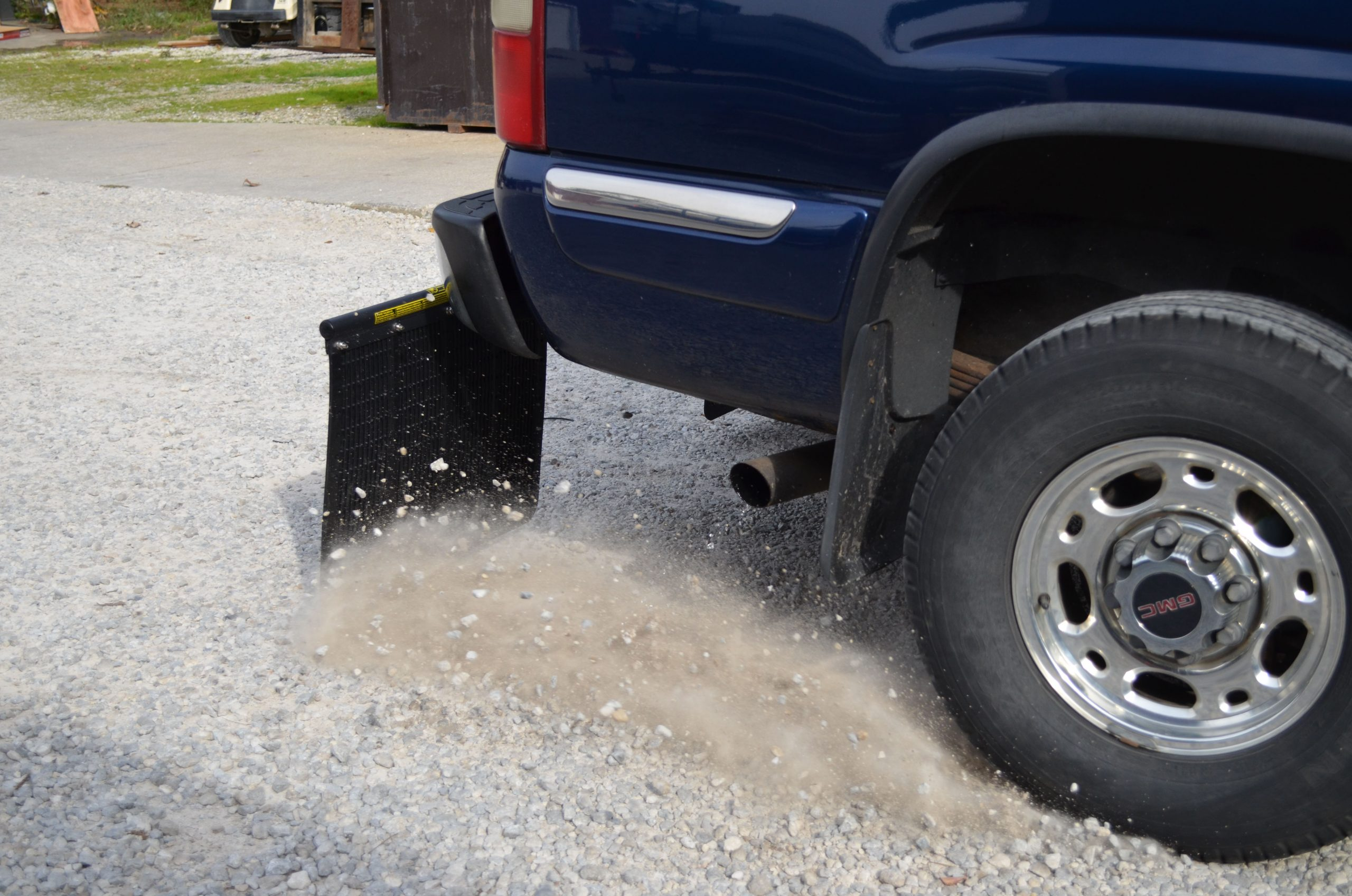 Adjustable Truck Receiver Hitch Mudflaps That Protect