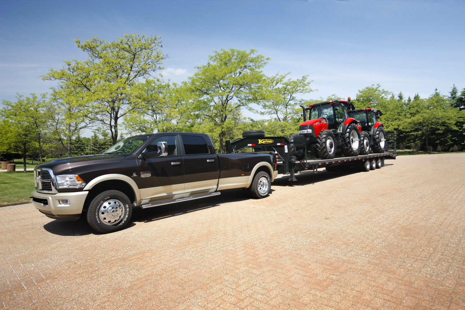 Ram Goes All Out For Sae J2807 Truck Ratings