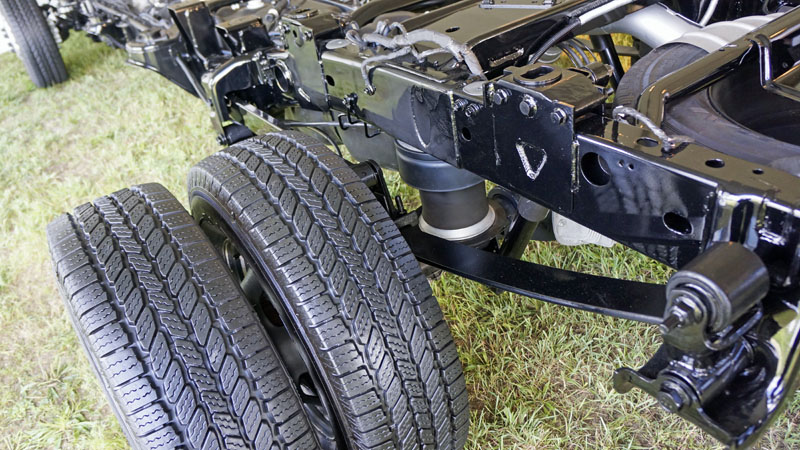 auto level rear air suspension ram 2500. Black Bedroom Furniture Sets. Home Design Ideas