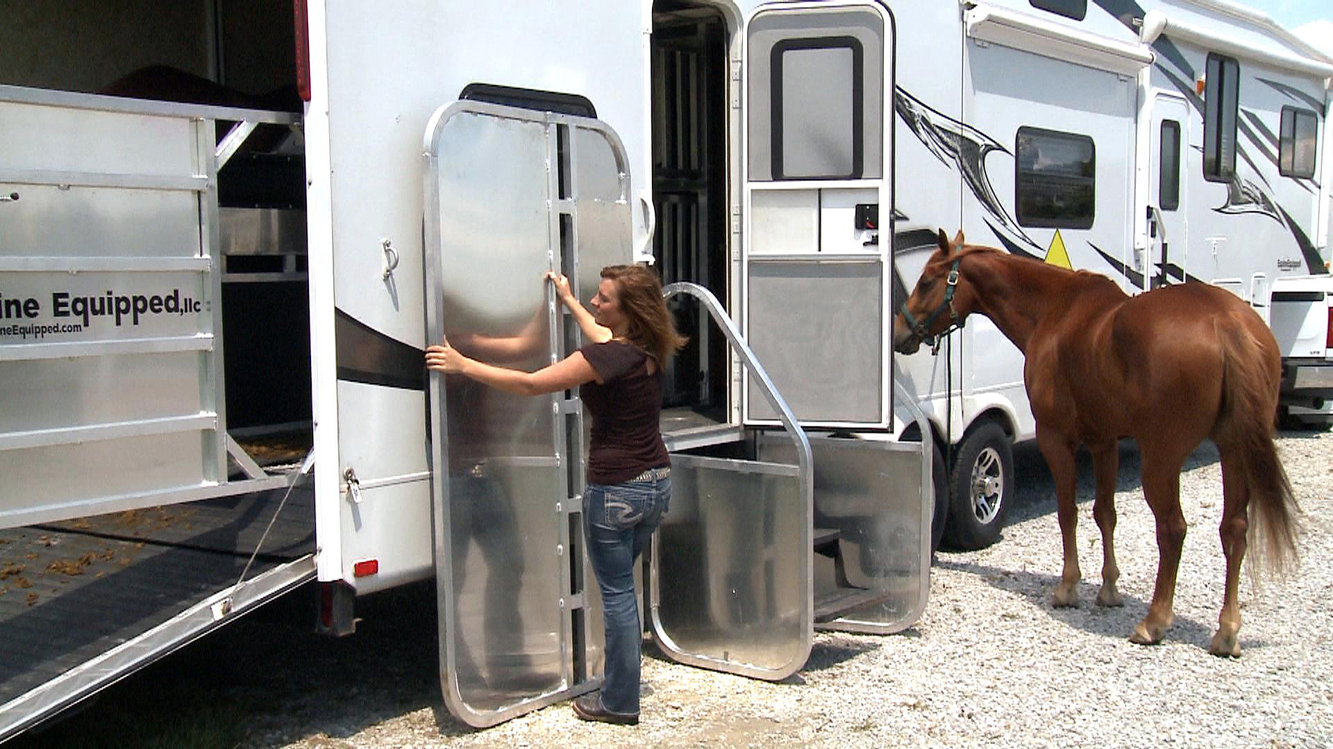 Stable Boy Module Horse Stall For Your Toy Hauler Rv