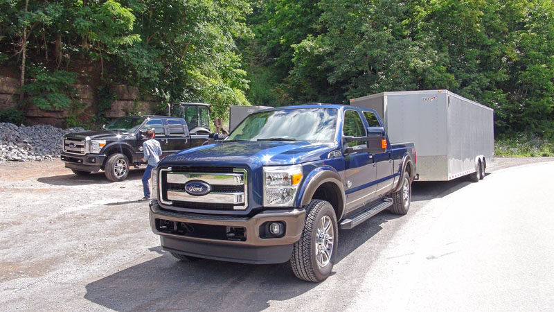 F350 Towing Capacity >> 2015 Ford Super Duty first drive in West Virginia