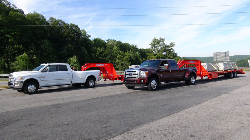 Ram Towing Capacity >> 2015 Ford Super Duty first drive in West Virginia