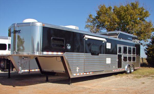 Cimarron horse trailer factory review 2010