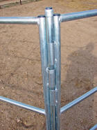 Travel-n-Corrals horse corrals go with your trailer
