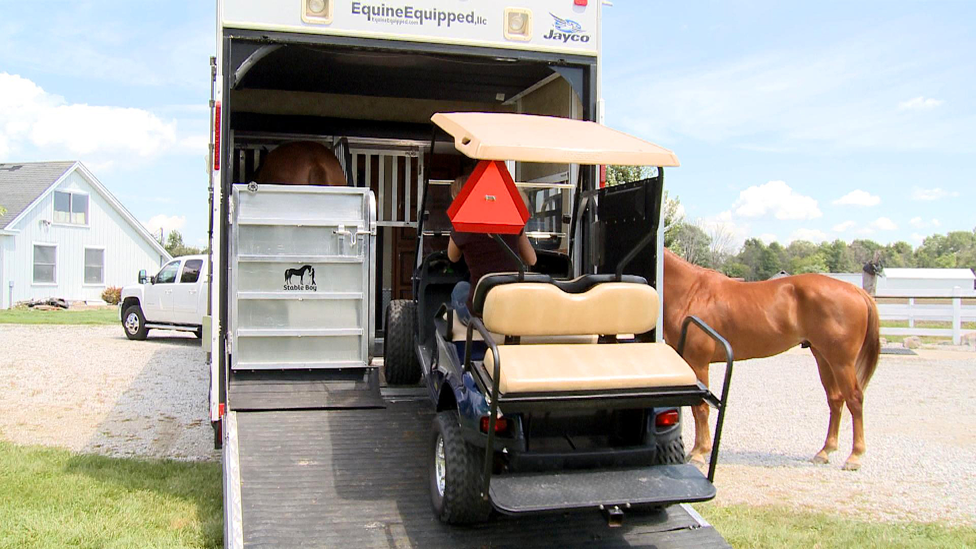 Stable Boy Module Horse Stall Your Toy Hauler