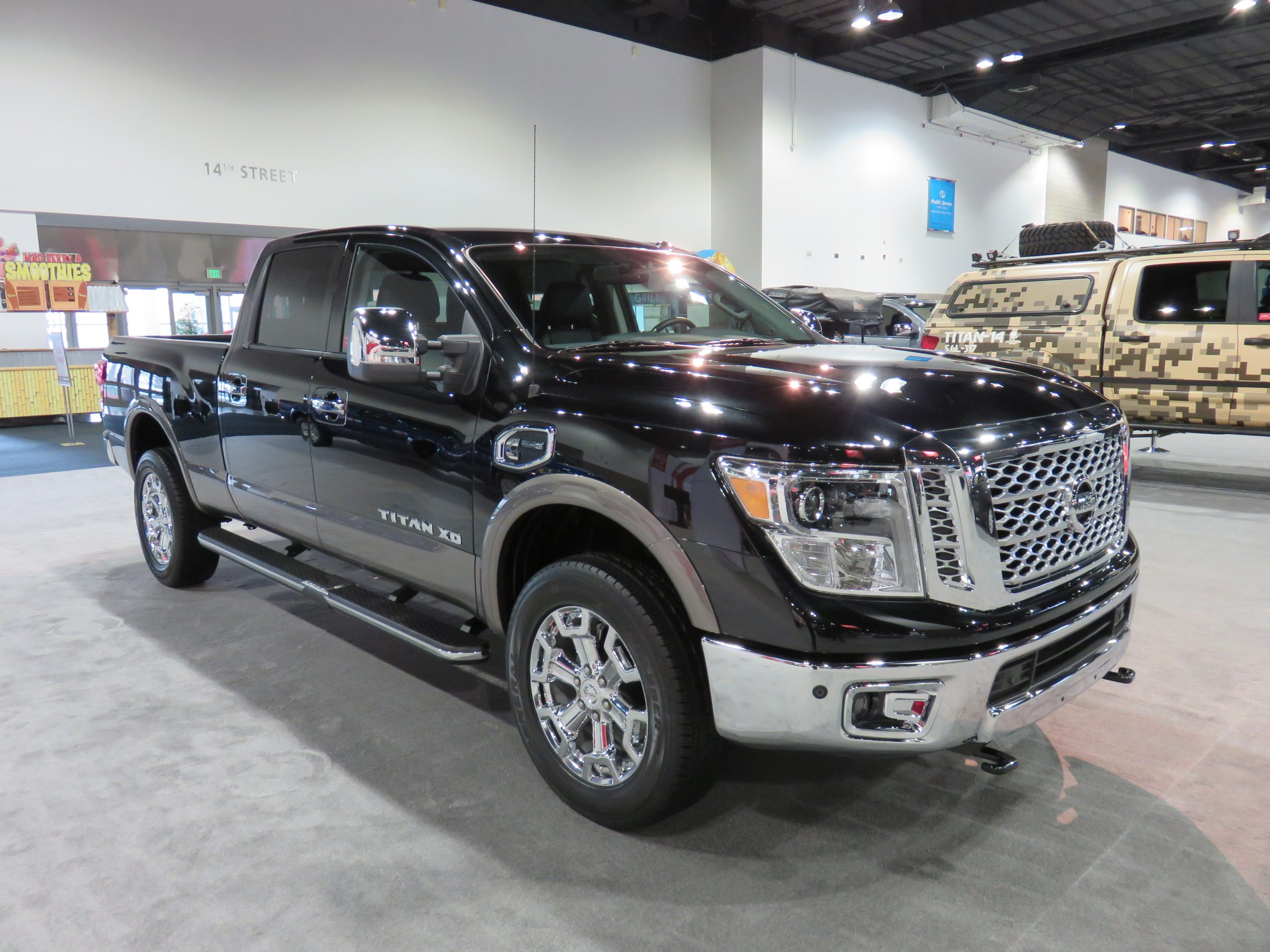 Nissan Titan back from the dead for 2016