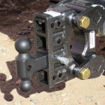 Geny receiver hitch cushion coupler