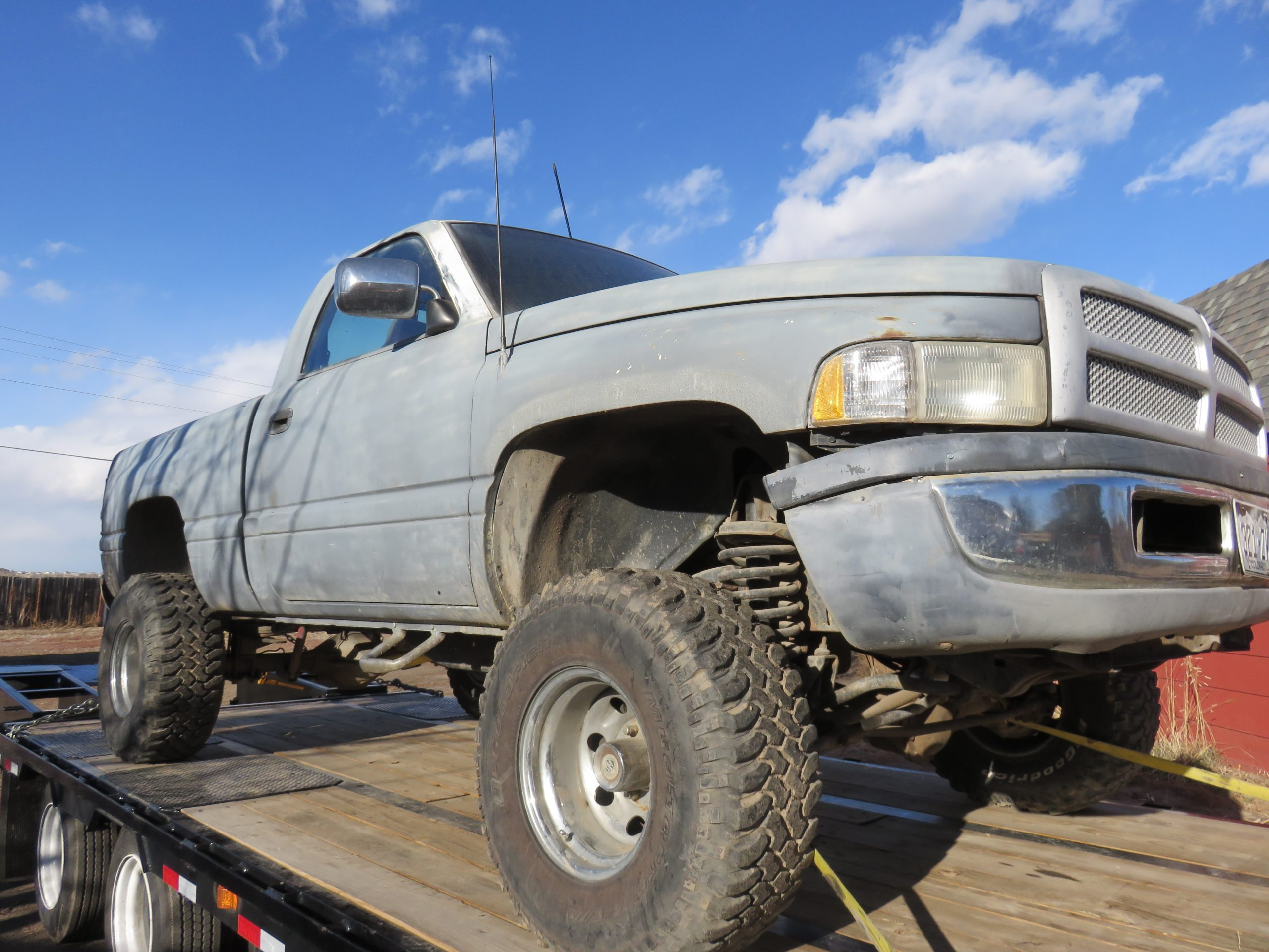 Dodge Ram 1994 Second Generation Restore Project 2014 1500 Tow Hooks Tailgate Firewall Gasket Transfer Case Boot Wheel Flares Skid Plate Bedliner Paint Ball Joints Drag Link And Much More