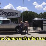 Ford F250 reviewing Cimarron Trailers