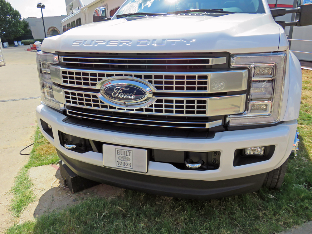 Ford Introduces 2017 Super Duty Trucks Setting A New