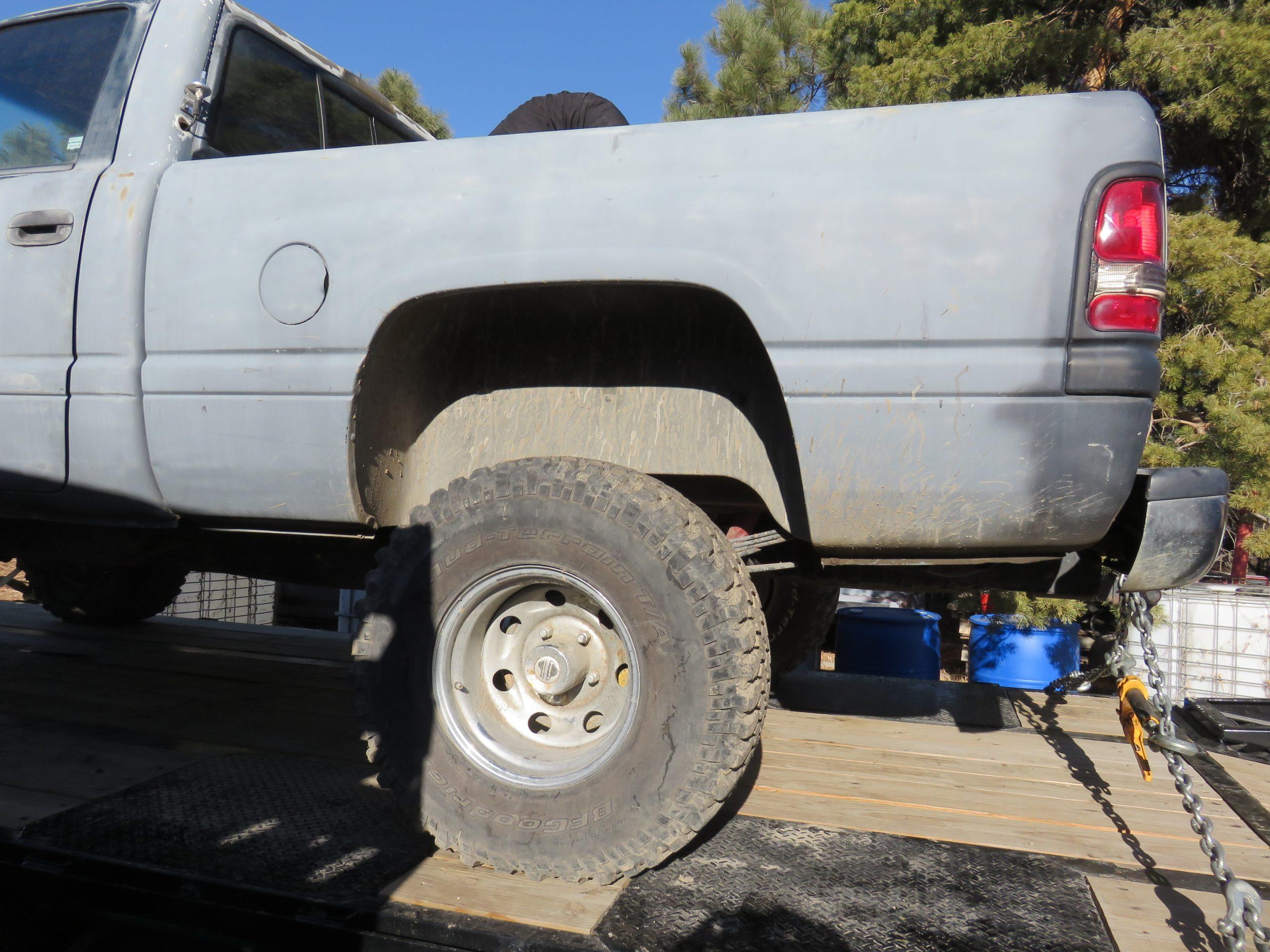 Dodge Ram 1994 second generation restore project