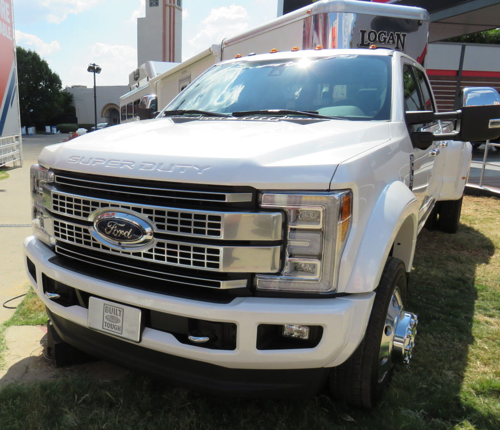 Ford Trucks more power and towing for 2017