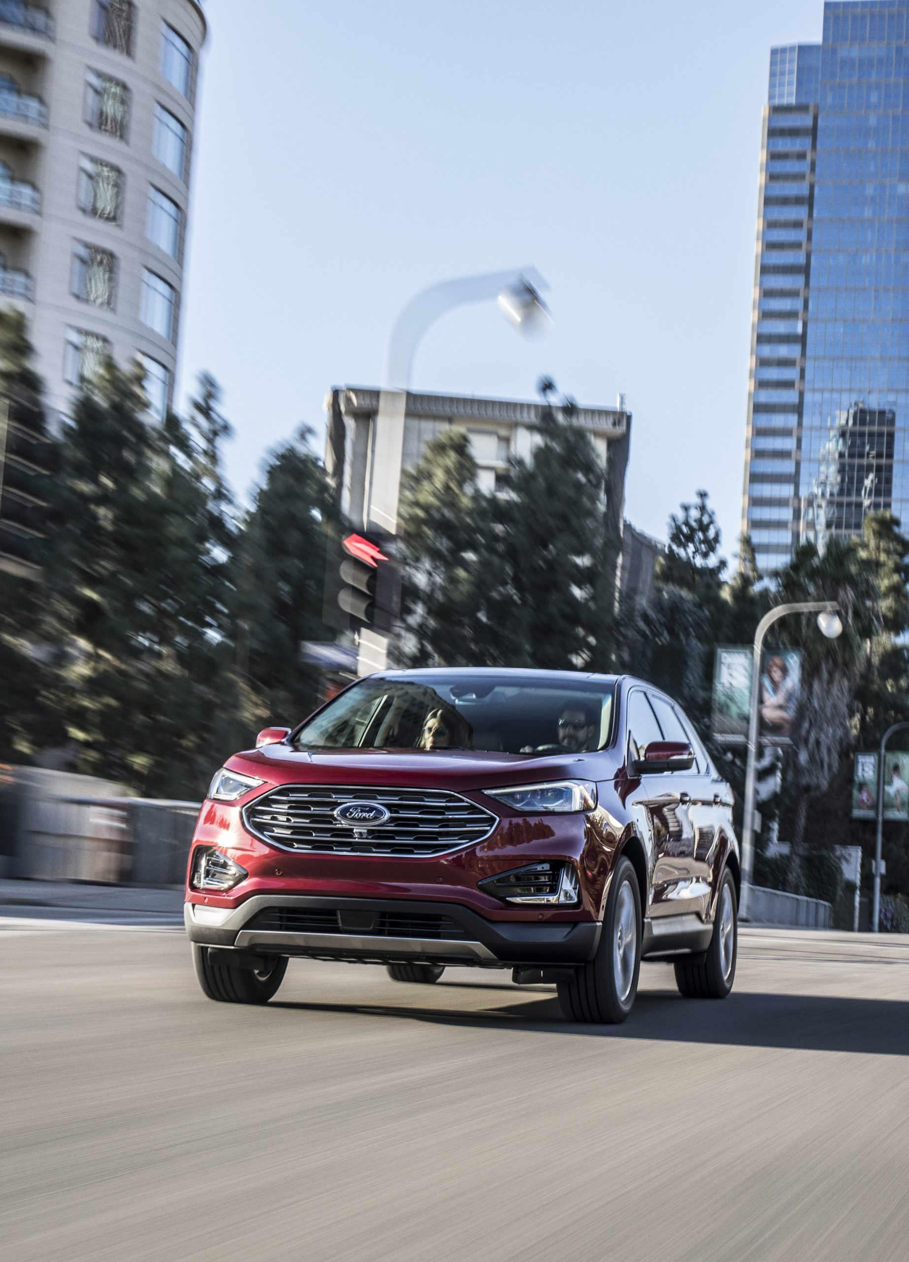 Ford Begins Introducing The Coveted St Brand To Its Suv Lineup With The Unveiling Of The All New Edge St Today Building On Its Best Ever Suv Sales Year In