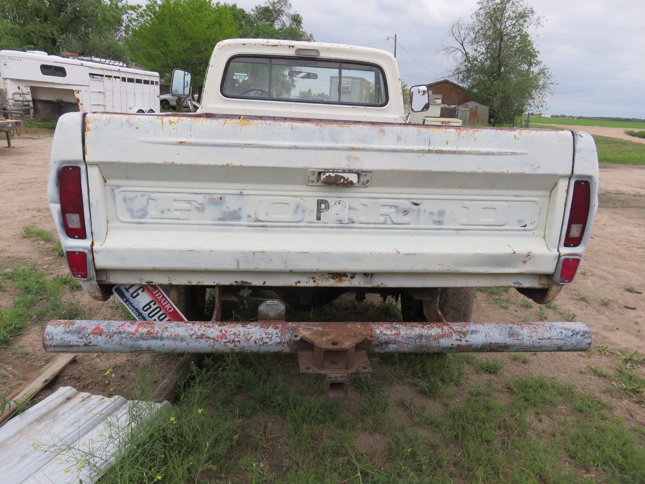 1971 Ford F250 High Boy Project Truck