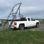 Overhauler super truck hydraulic rack