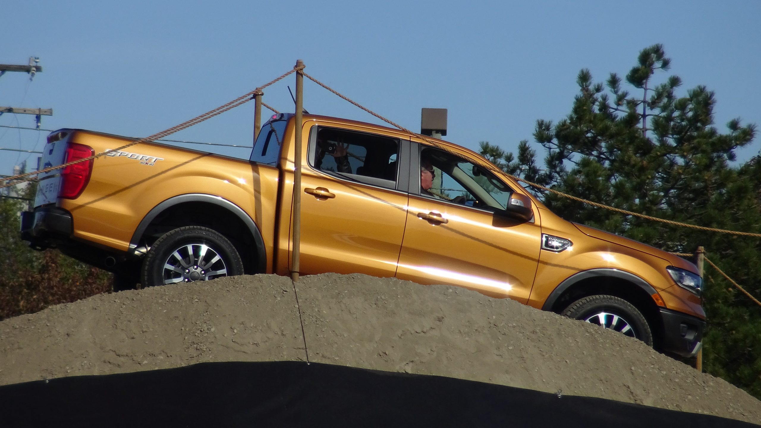 Adventure further all new ford ranger rated most fuel efficient gas powered midsize pickup in america