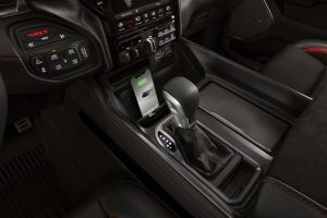 All-new 2021 Ram 1500 TRX shifter