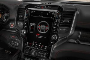 All-new 2021 Ram 1500 TRX dash